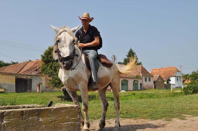 Philipp Maußhardt zu Pferde, Foto: Janet Schönfeld